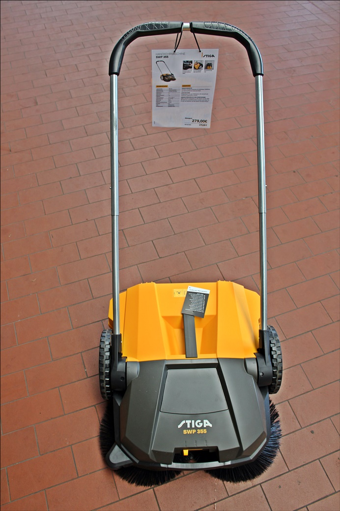STIGA SWP 355 Handkehrmaschine
