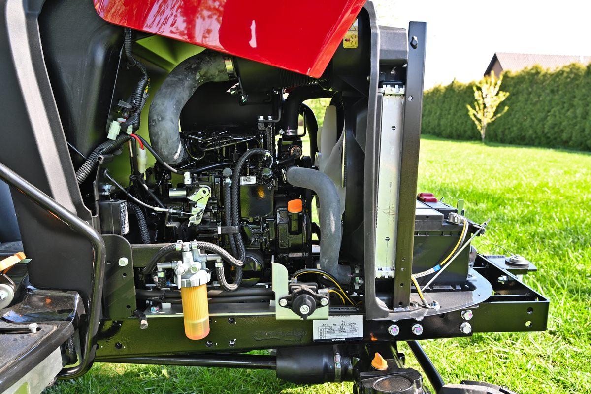 Kompakttraktor Yanmar SA221B-R
