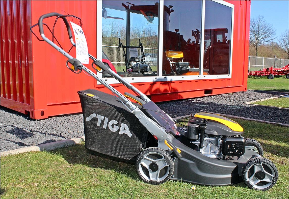 STIGA Twinclip 50 S - Benzinrasenmäher