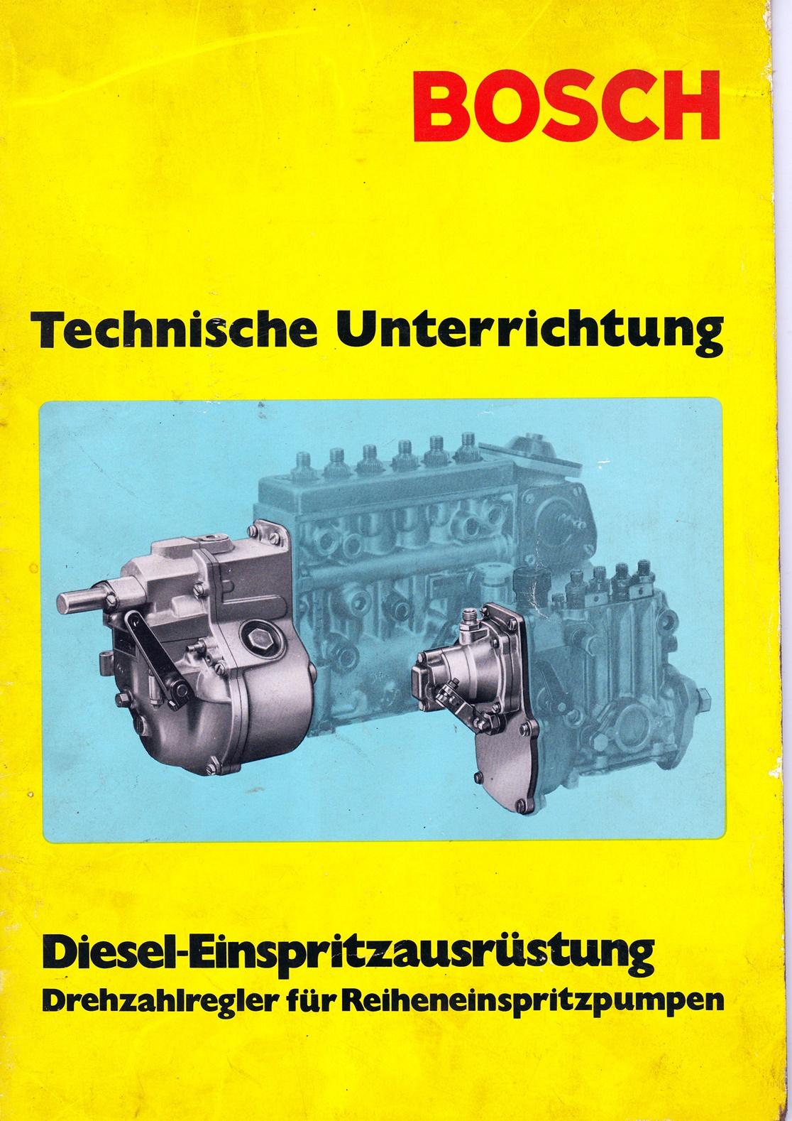 Bosch Technische Unterrichtung