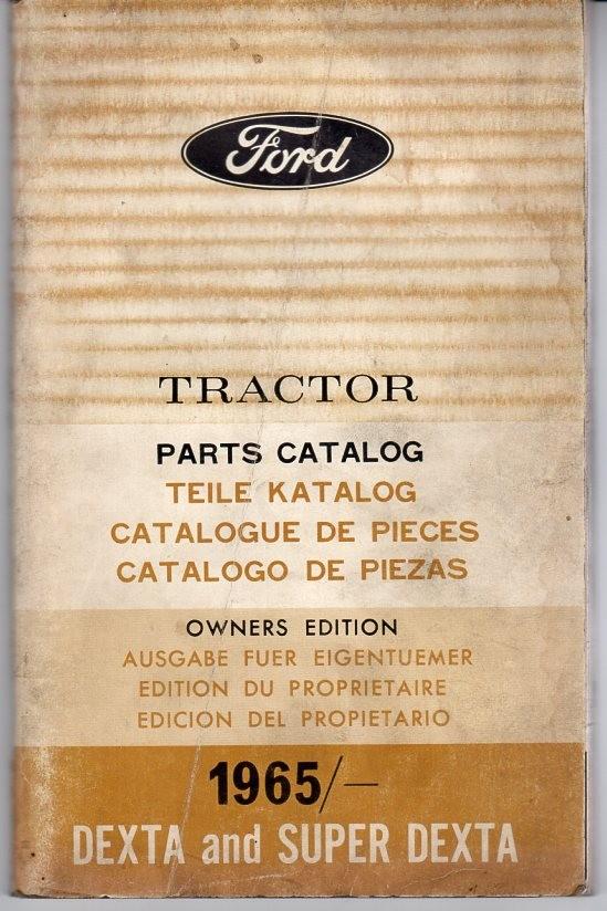 Ford DEXTRA und Super Dextra Ersatzteilkatalog