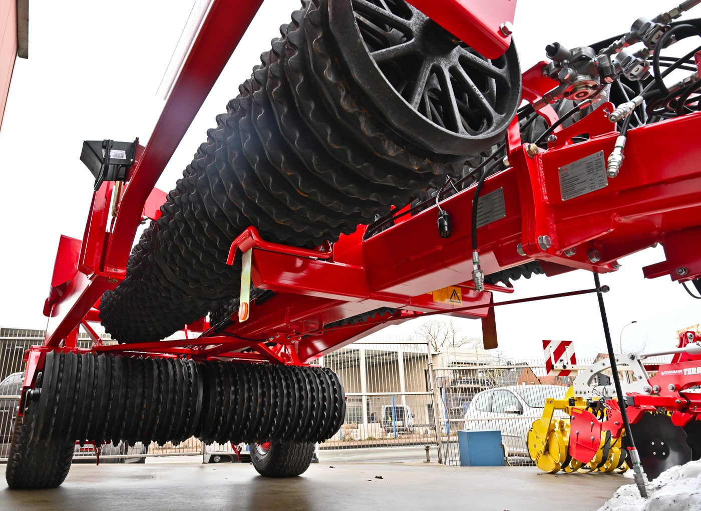HE-VA Tip-Roller 9,50 Meter Walze