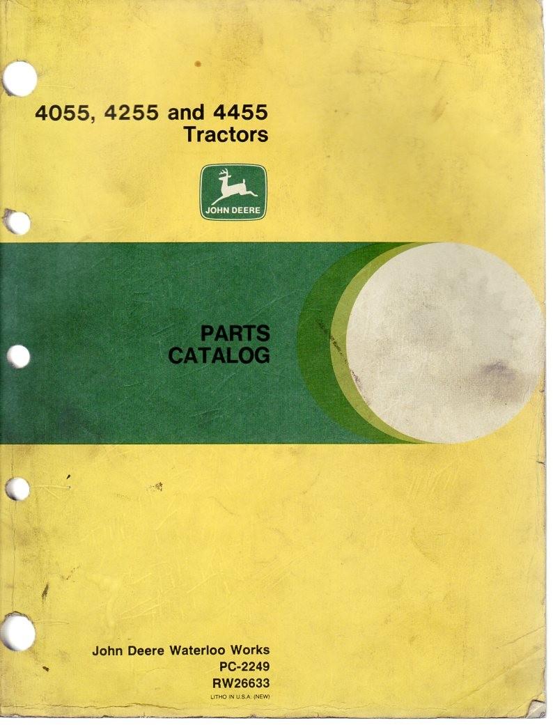Ersatzteilekatalog John Deere 4055